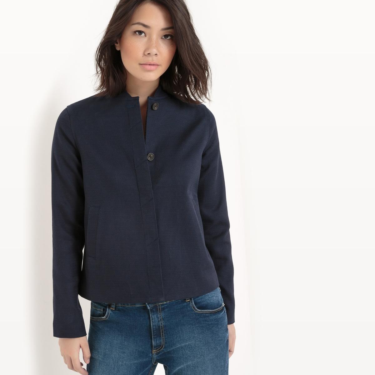 Blusão curto, algodão
