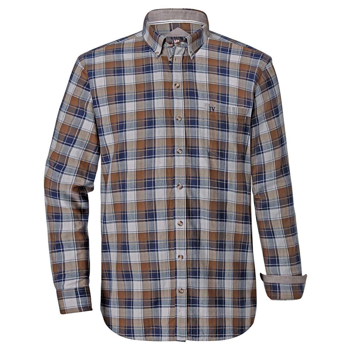 Chemise à carreaux SAROLF