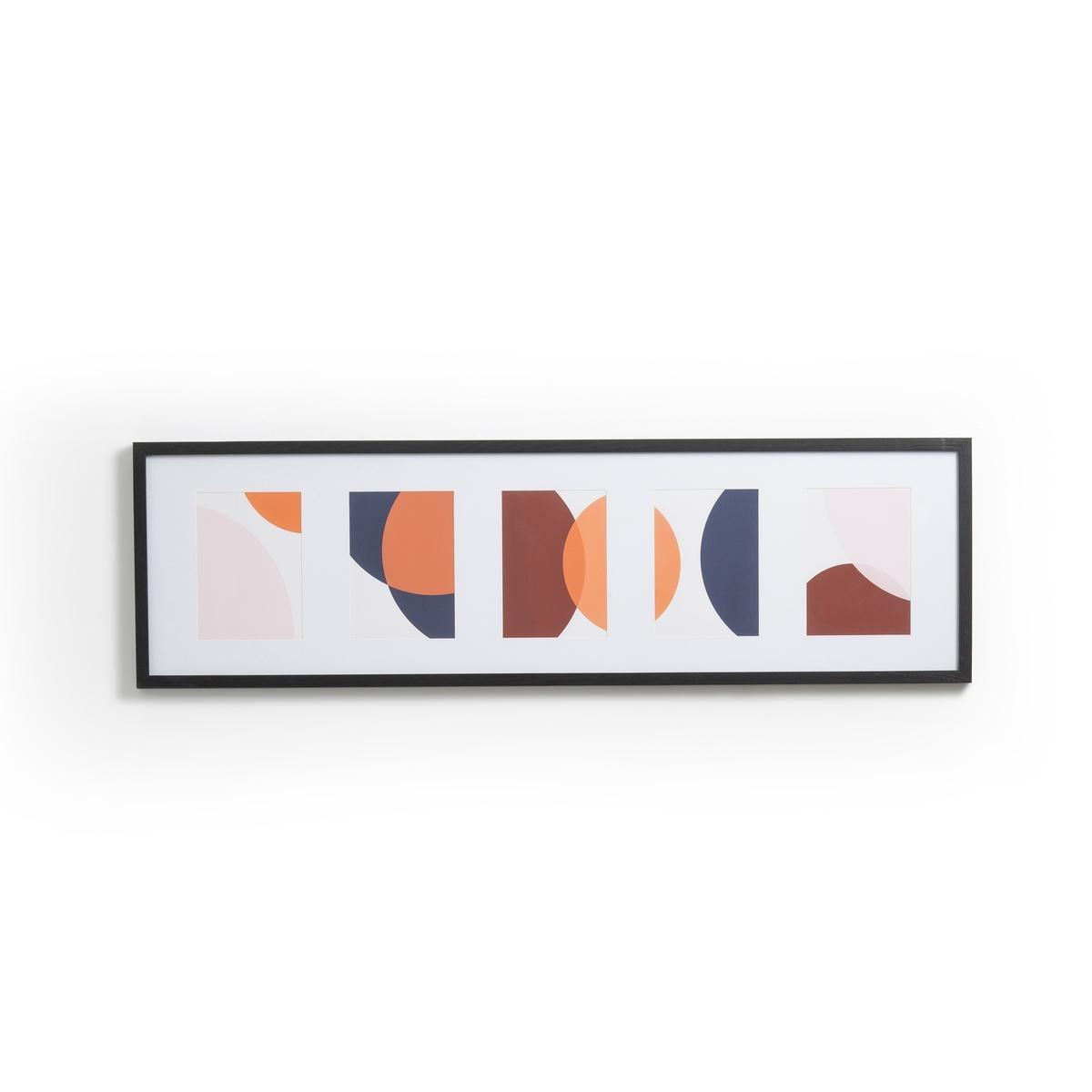 цена на Картина La Redoute Из панно Arfy единый размер разноцветный