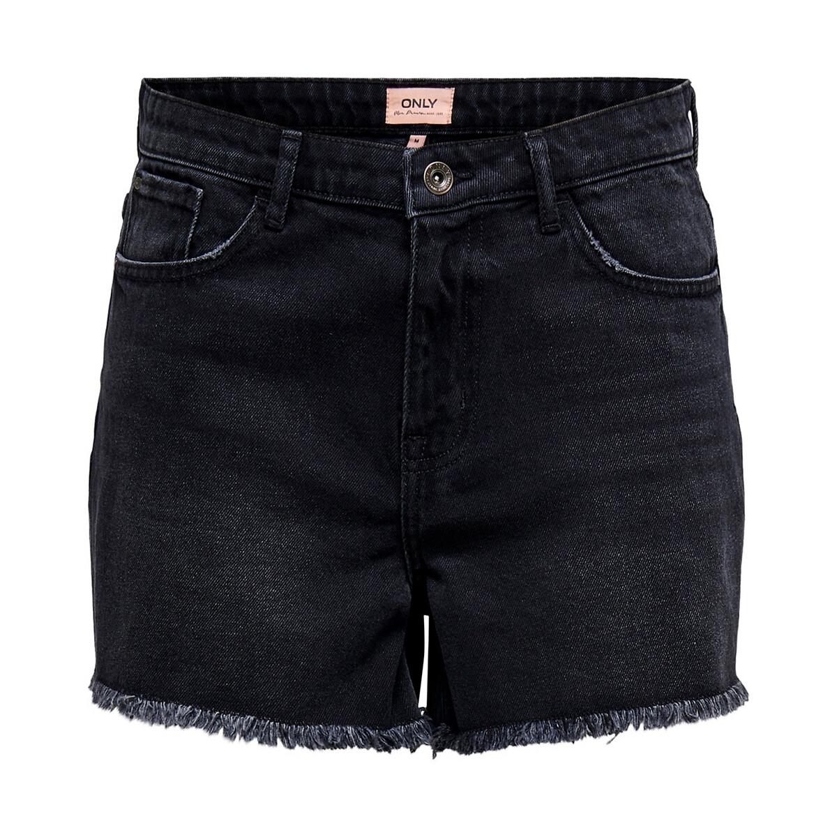 Шорты La Redoute Из джинсовой ткани XS черный бермуды la redoute из джинсовой ткани jjirrick jjicon s синий