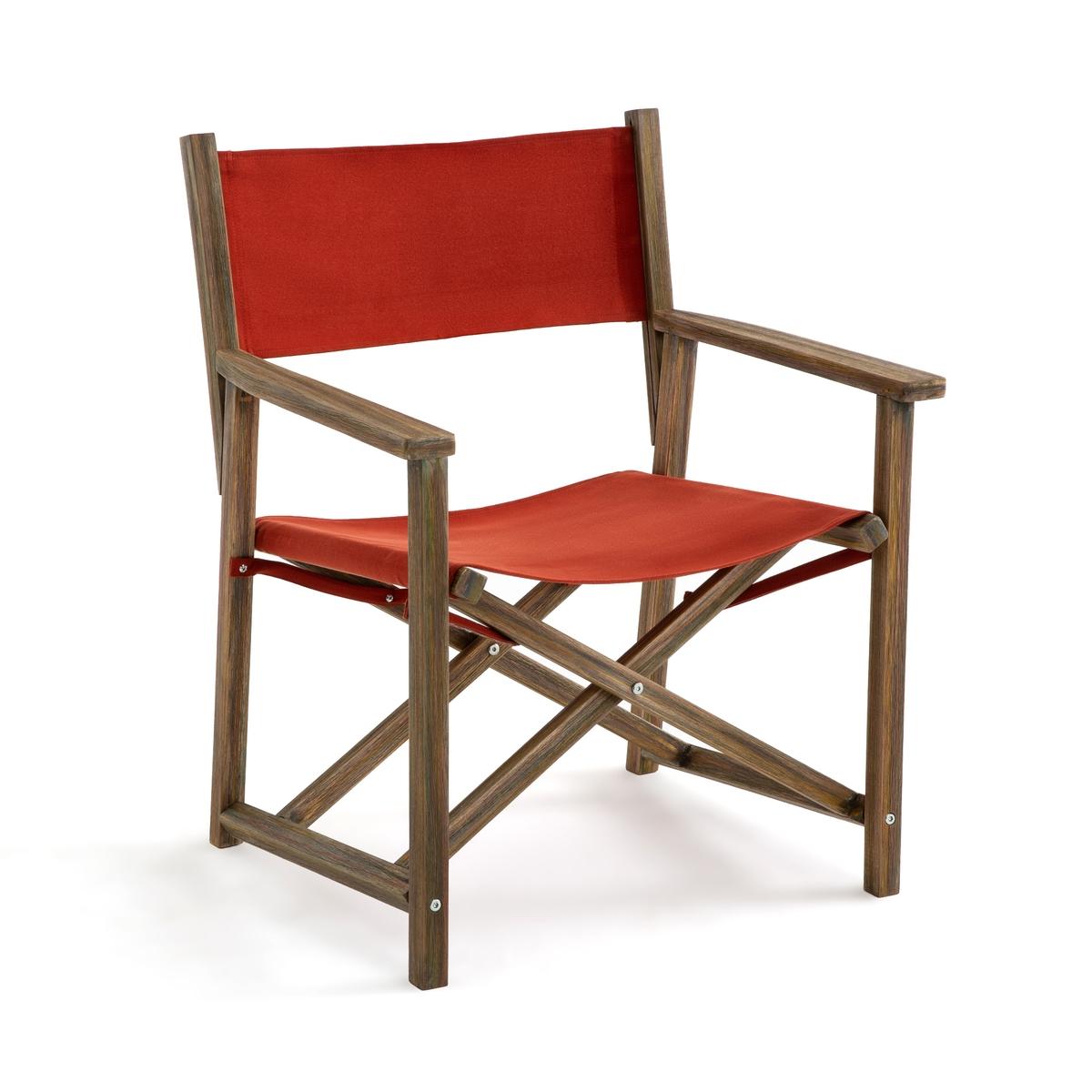 Кресло La Redoute Обеденное Alfred 1 местн. каштановый цена 2017