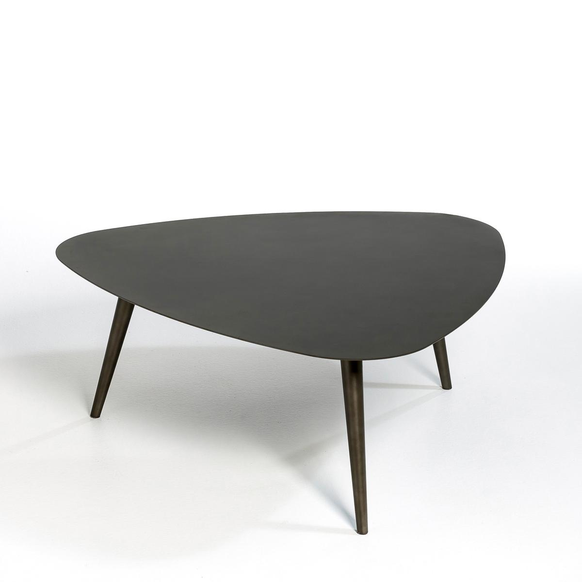 Столик La Redoute Журнальный Tholeine маленькая модель единый размер серый столик la redoute журнальный rozam единый размер черный