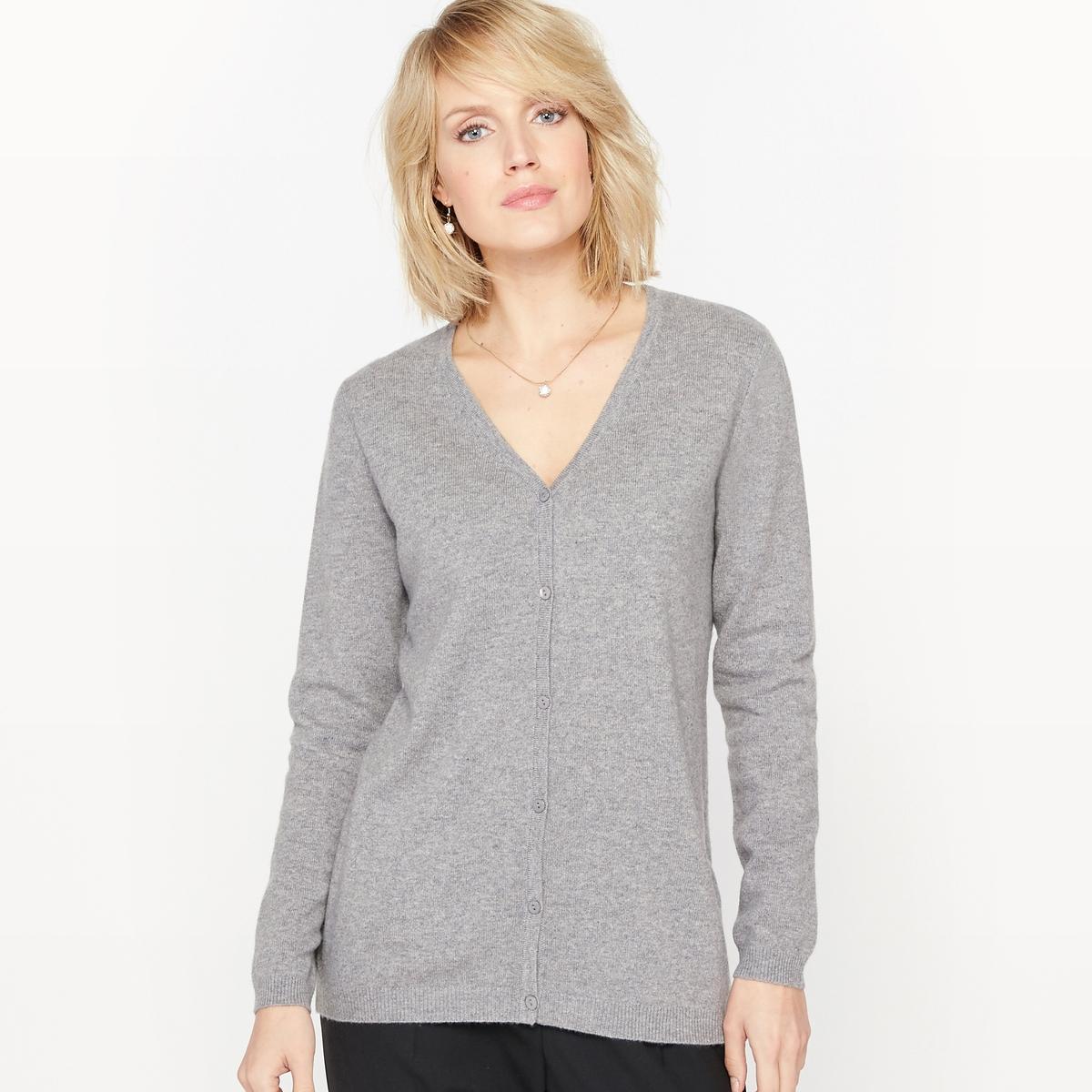 Кардиган с V-образным вырезом пуловеры