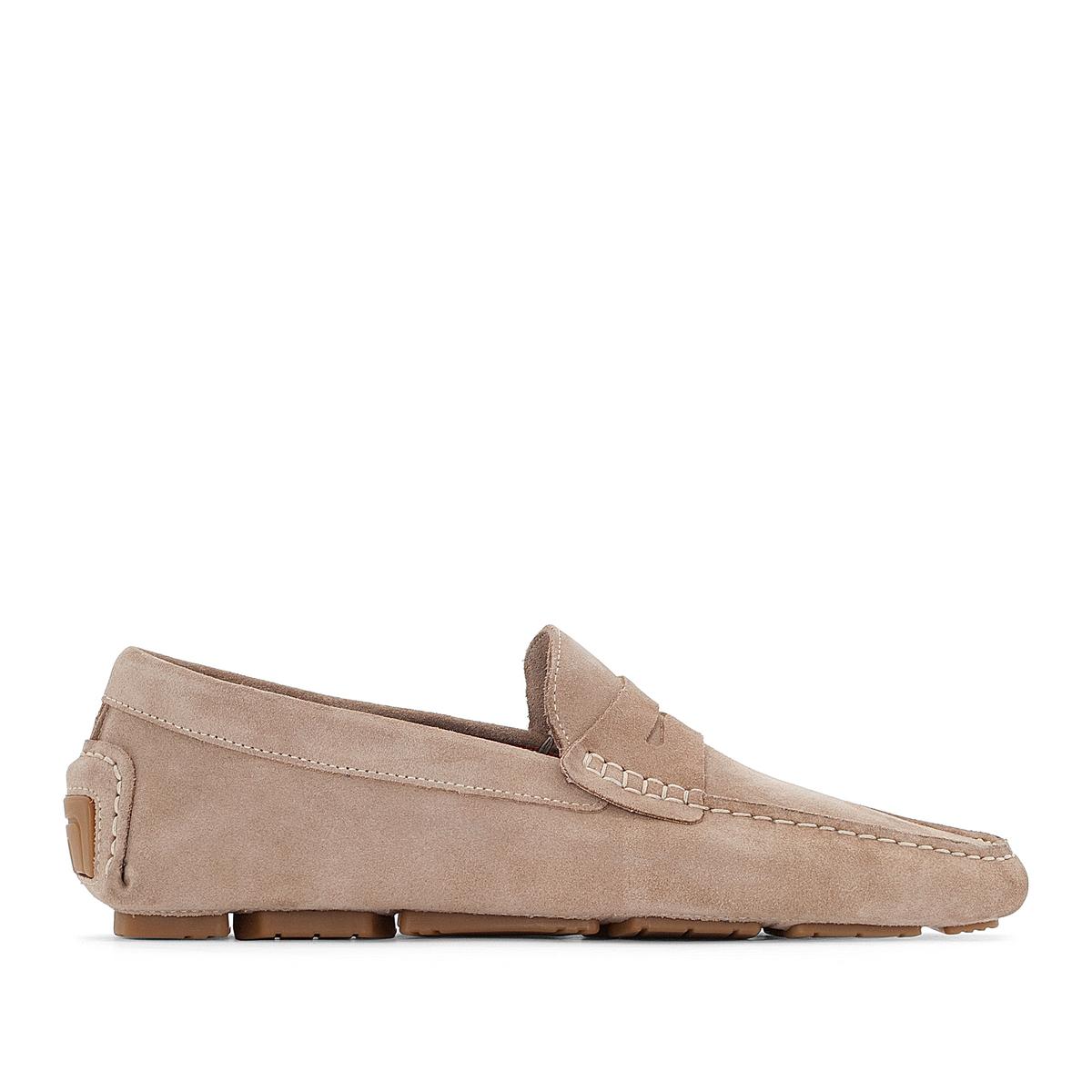 Мокасины из спилка ботинки из спилка