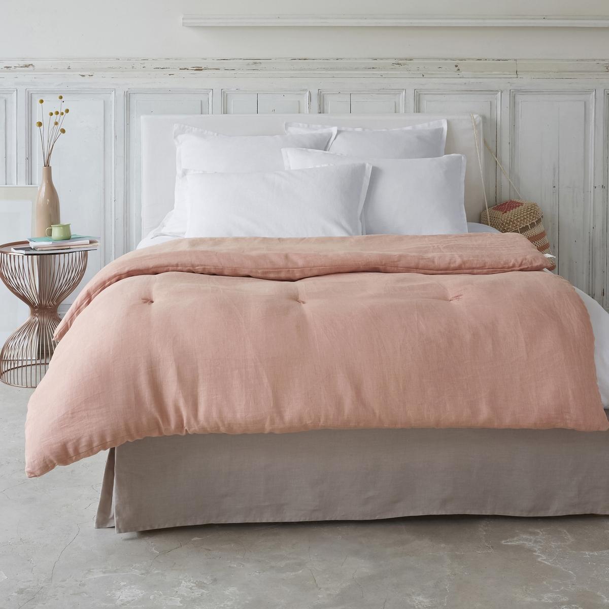 Одеяло из стиранного льна, Abella от La Redoute