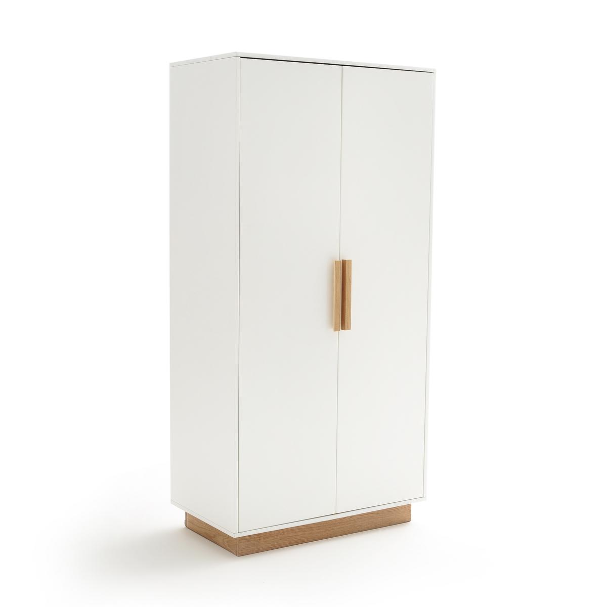 Шкаф LaRedoute С 2 дверцами FABI единый размер белый