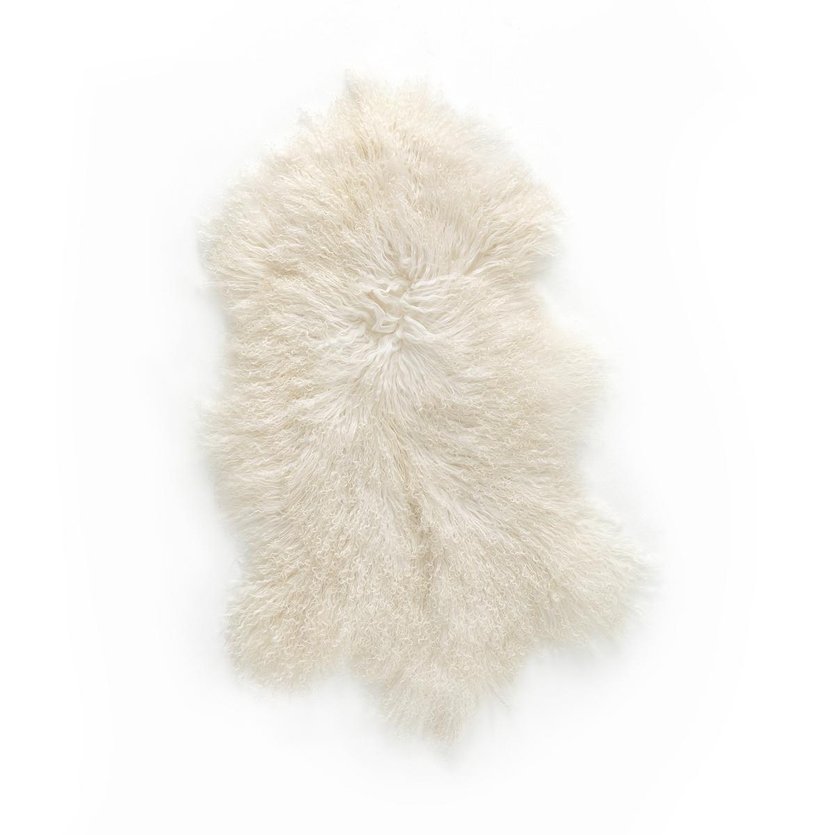 Овечья La Redoute Шкура OSIA 55 x 90 см белый чехол для подушки из шерсти osia
