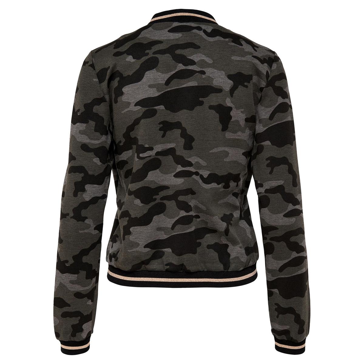 Куртка-бойфренд просторнаяДетали •  Просторная •  Покрой бойфренд, свободный •   V-образный вырезСостав и уход •  63% вискозы, 5% эластана, 32% полиамида •  Следуйте советам по уходу, указанным на этикетке<br><br>Цвет: камуфляж<br>Размер: M