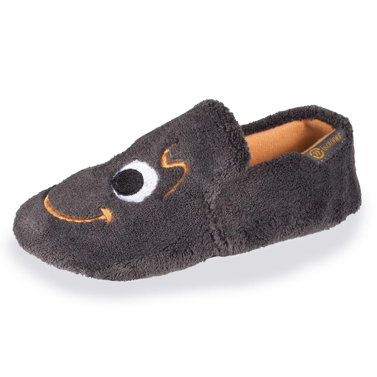 Chaussons slippers garçon brodés