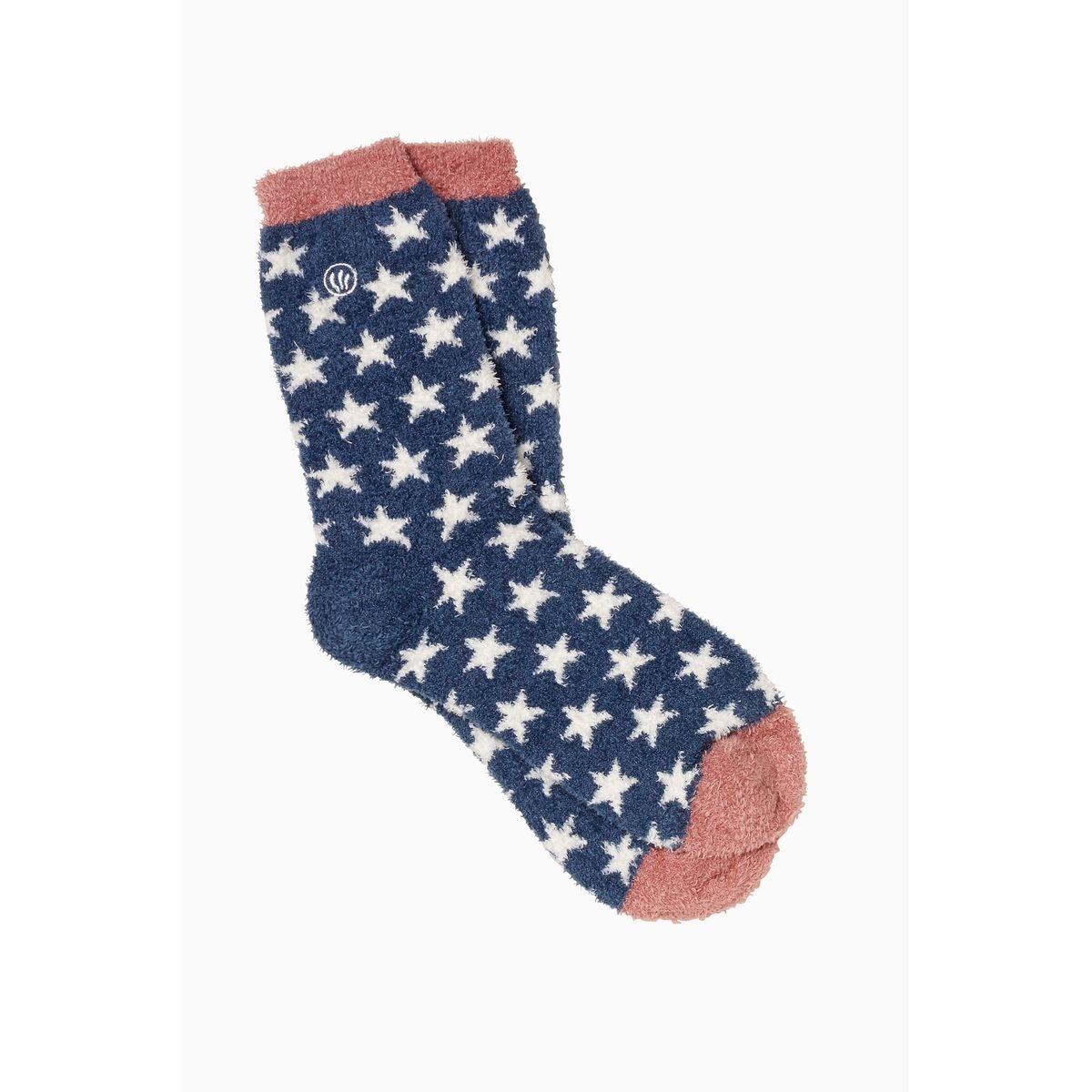 Chaussettes motif étoile