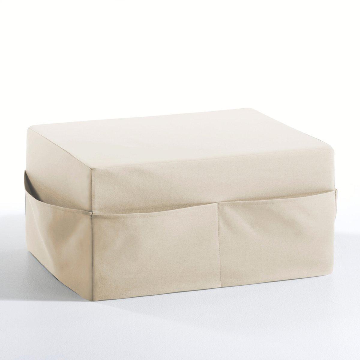 Пуф раскладной с чехлом Meeting от BultexОписание пуфа Meeting:В гостиной можно использовать как сиденье и как маленький стол.В спальне можно разложить 3 блока из пеноматериала, и пуф превратится в небольшую кровать.Характеристики пуфа Meeting:Чехол из 100% обработанного хлопка с тефлоновым покрытием против пятен.Прочный чехол, на котором можно сидеть:Материал Bultex для мягкого и продолжительного сна (плотность 37 кг/м?).Найдите все предметы из коллекции Meeting на сайте laredoute.ru.Размеры пуфа Meeting :Общие:Ширина: 60 см.Высота: 30 см.Глубина: 48 см.Спальное место:Ш.60 x Д.145 x Т.10 см.<br><br>Цвет: красный,светло-серый,серо-коричневый каштан,темно-фиолетовый,фисташковый,шоколадно-каштановый,экрю