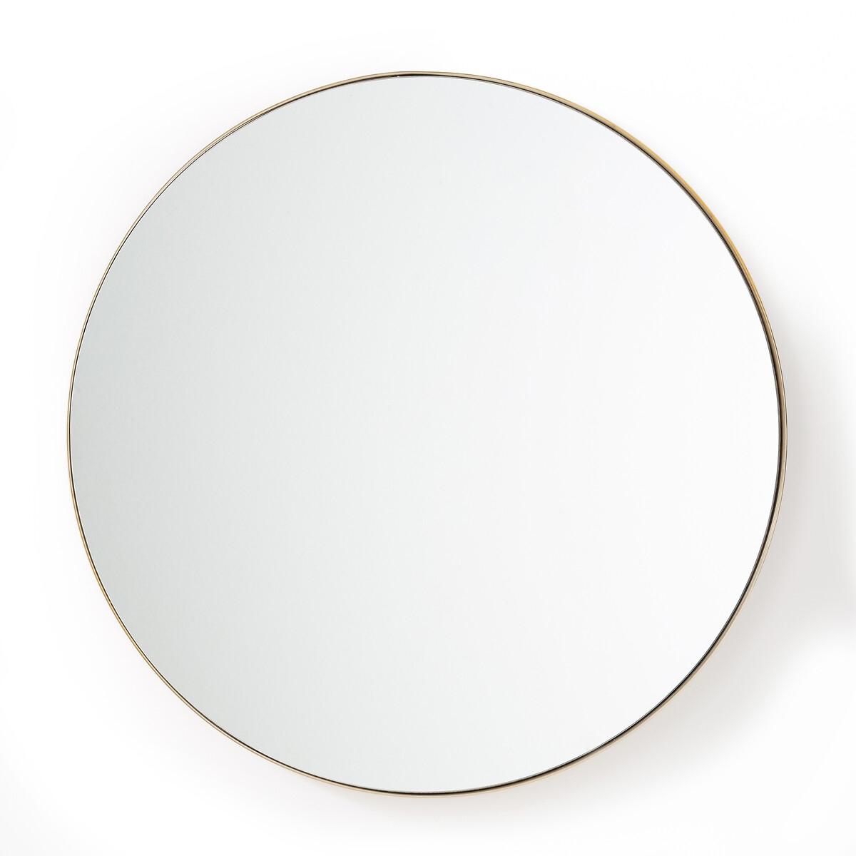 зеркало в форме облака из латуни д45 x в26 см zicowi Зеркало La Redoute Круглое из латуни см Iodus единый размер желтый