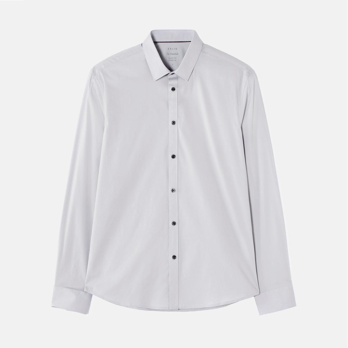 Рубашка из поплина стретч JASANTAL2