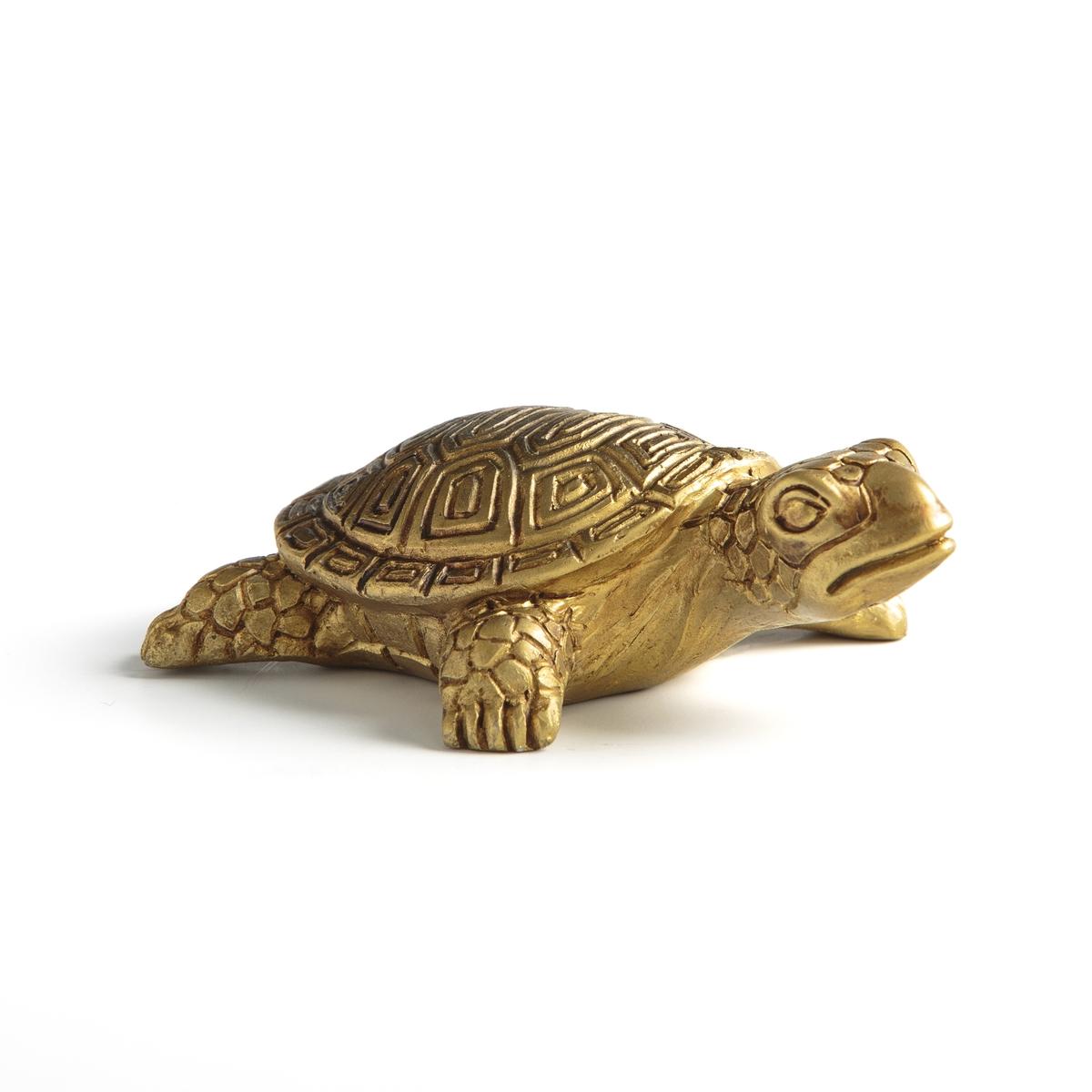 Амулет La Redoute Черепаха Talisma единый размер желтый цена
