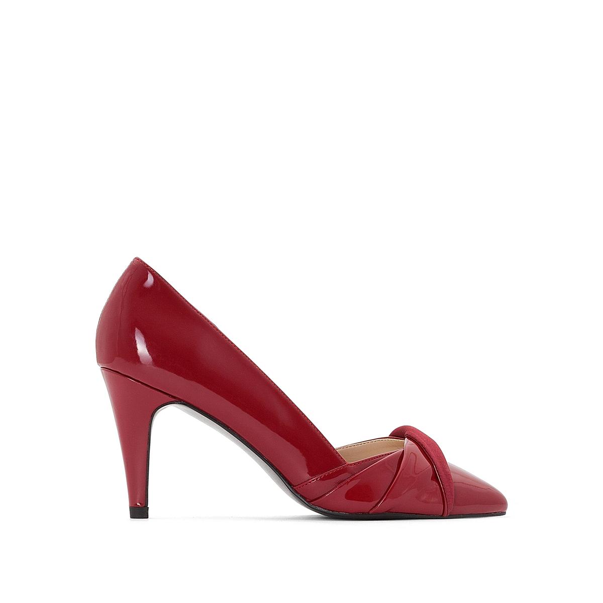 Туфли лакированные на высоком каблуке canali лакированные туфли