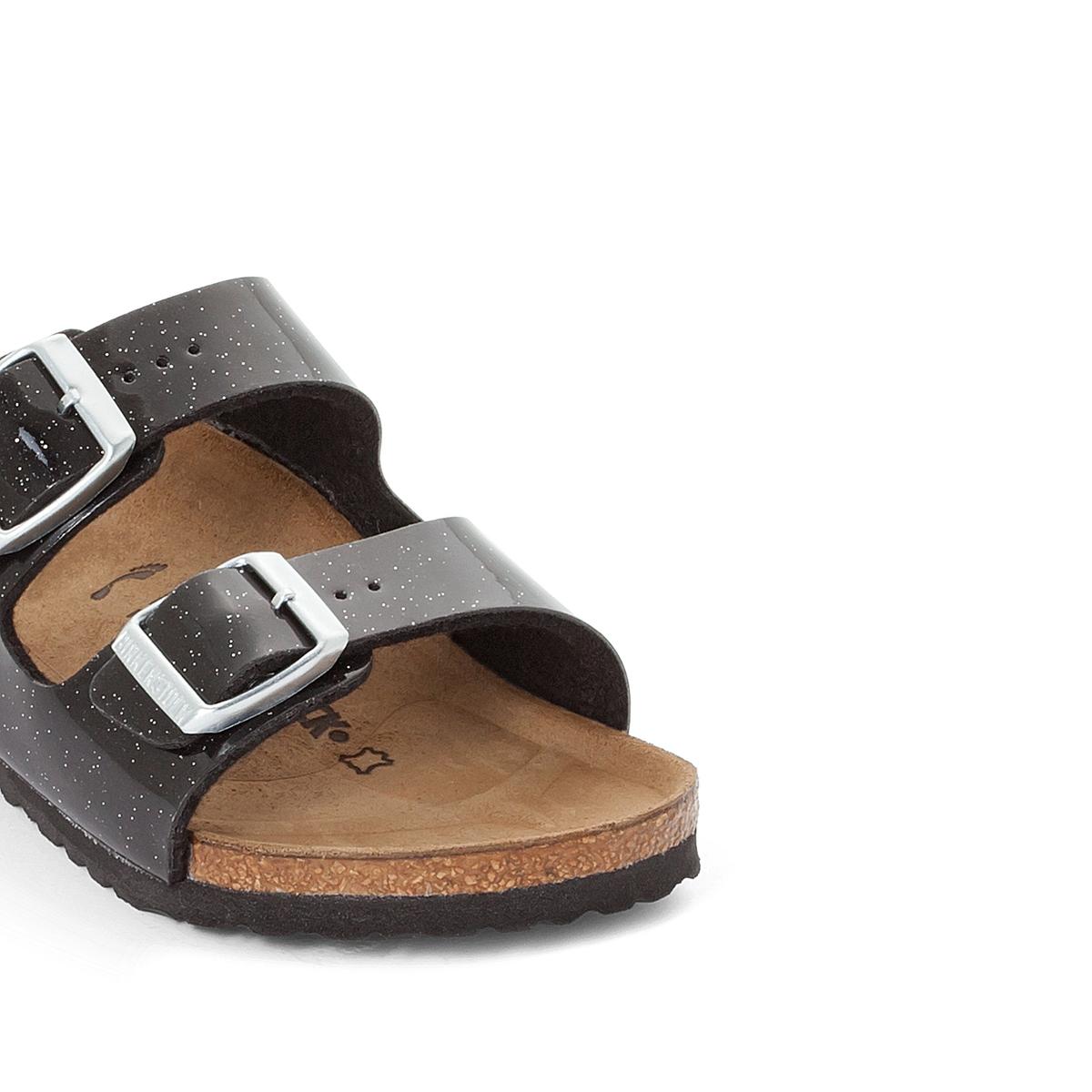 Туфли без задника синтетическиеОписание:Детали  •  Туфли без задника •  Застежка : без застежки •  Открытый мысокСостав и уход  •  Верх 100% синтетический материал •  Подкладка 100% текстиль •  Стелька 100% кожа •  Подошва 100% ЭВА<br><br>Цвет: черный