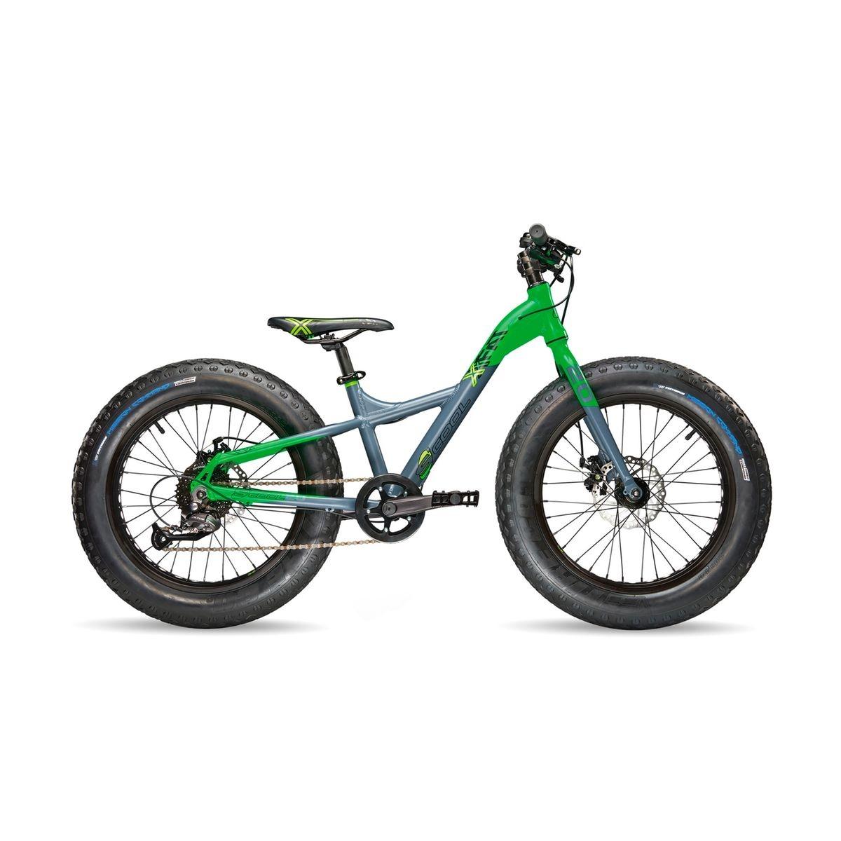 XXfat 20 9-S - Vélo enfant - gris/vert