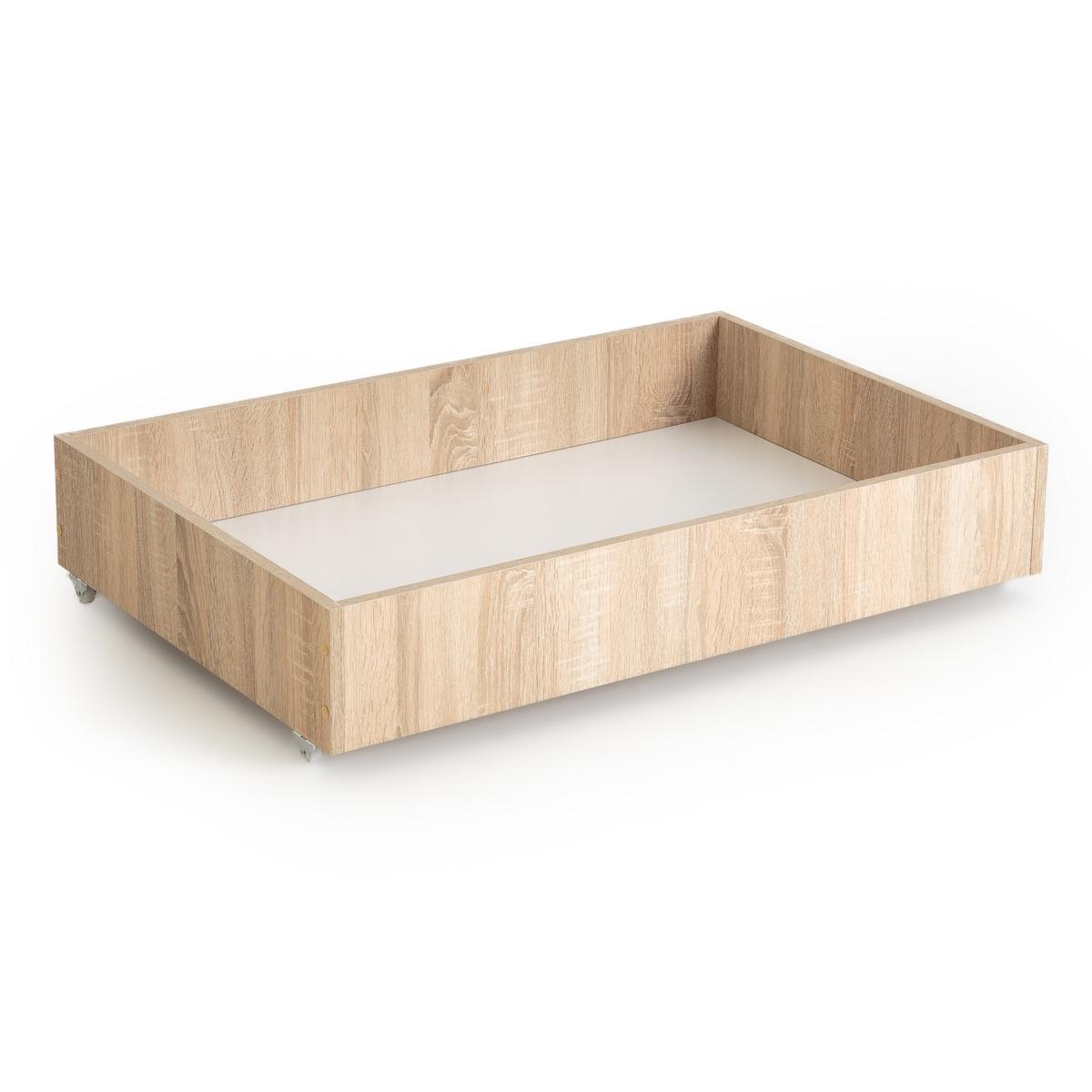 Ящик La Redoute Для хранения для раскладного дивана см отделка из дуба единый размер бежевый чехол стеганый для раскладного дивана scénario