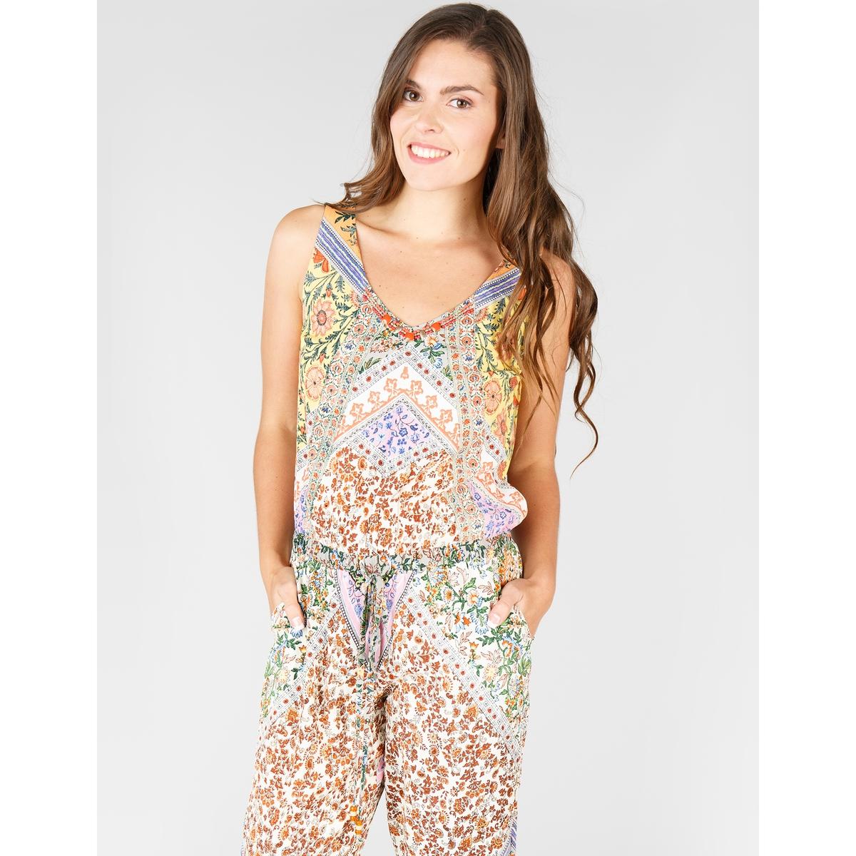 Комбинезон с брюками с цветочным рисунком в стиле пэчворк пётр зырянов сумки в стиле пэчворк технологии и секреты выкройки