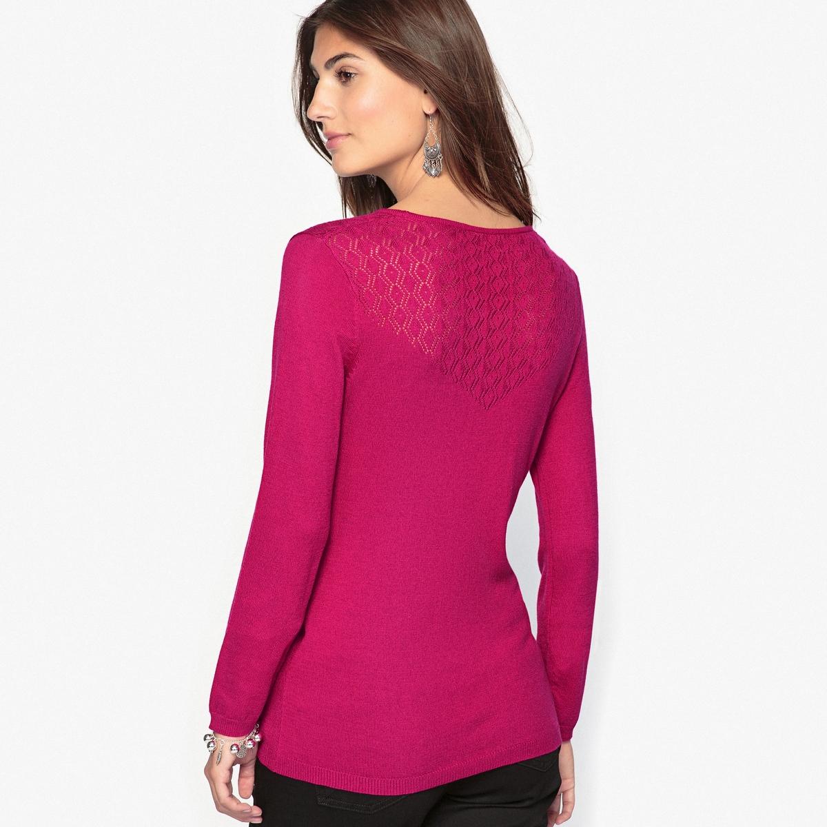 Пуловер оригинальный, 10% шерсти