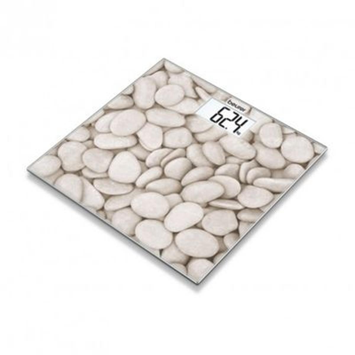 Pèse-personne en verre motif Pierres GS 203 Stones