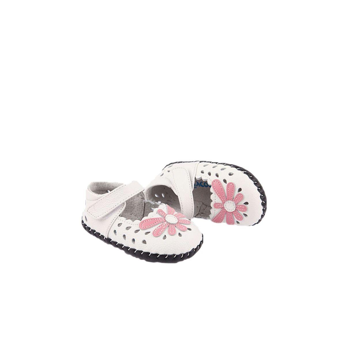 Chaussures premiers pas cuir souple babies MARGUERITE