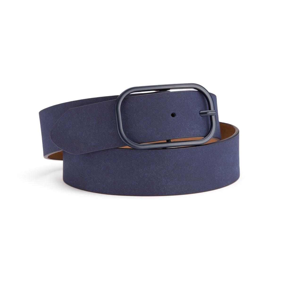 Cinturón con hebilla rectangular