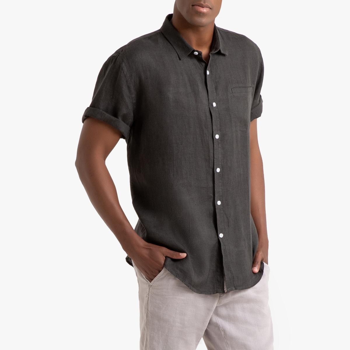 Camisa de manga corta de lino, Clément