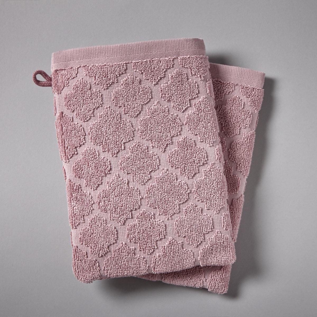 Банные La Redoute Рукавички АЛЖЮСТРЕЛЬ 15 x 21 см розовый цены онлайн