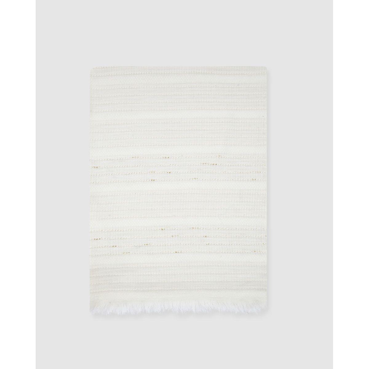 Foulard Southern Cotton à franges