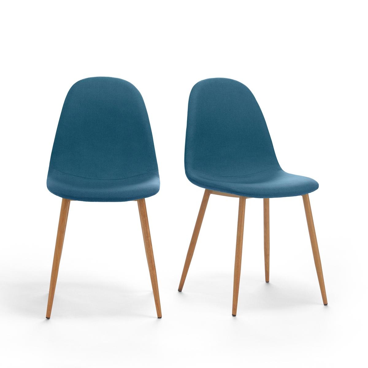 Комплект из 2 мягких стульев NORDIEОписание:2 мягких стула Nordie. Прочные и комфортные стулья простого и улучшенного дизайна, с легким намеком на 50-е года.Характеристики 2 мягких стульев Nordie:Ножка из металлической трубы с утолщением посередине и отделкой дубом.Сиденье из клееной фанеры, наполнитель из пеноматериала Обивка 100% полиэстер.Откройте для себя всю коллекцию Nordie на сайте laredoute.ru.Размеры 2 мягких стульев Nordie:Ширина : 45 смВысота : 87 смГлубина : 54 см:. !! .<br><br>Цвет: изумрудный,сине-зеленый