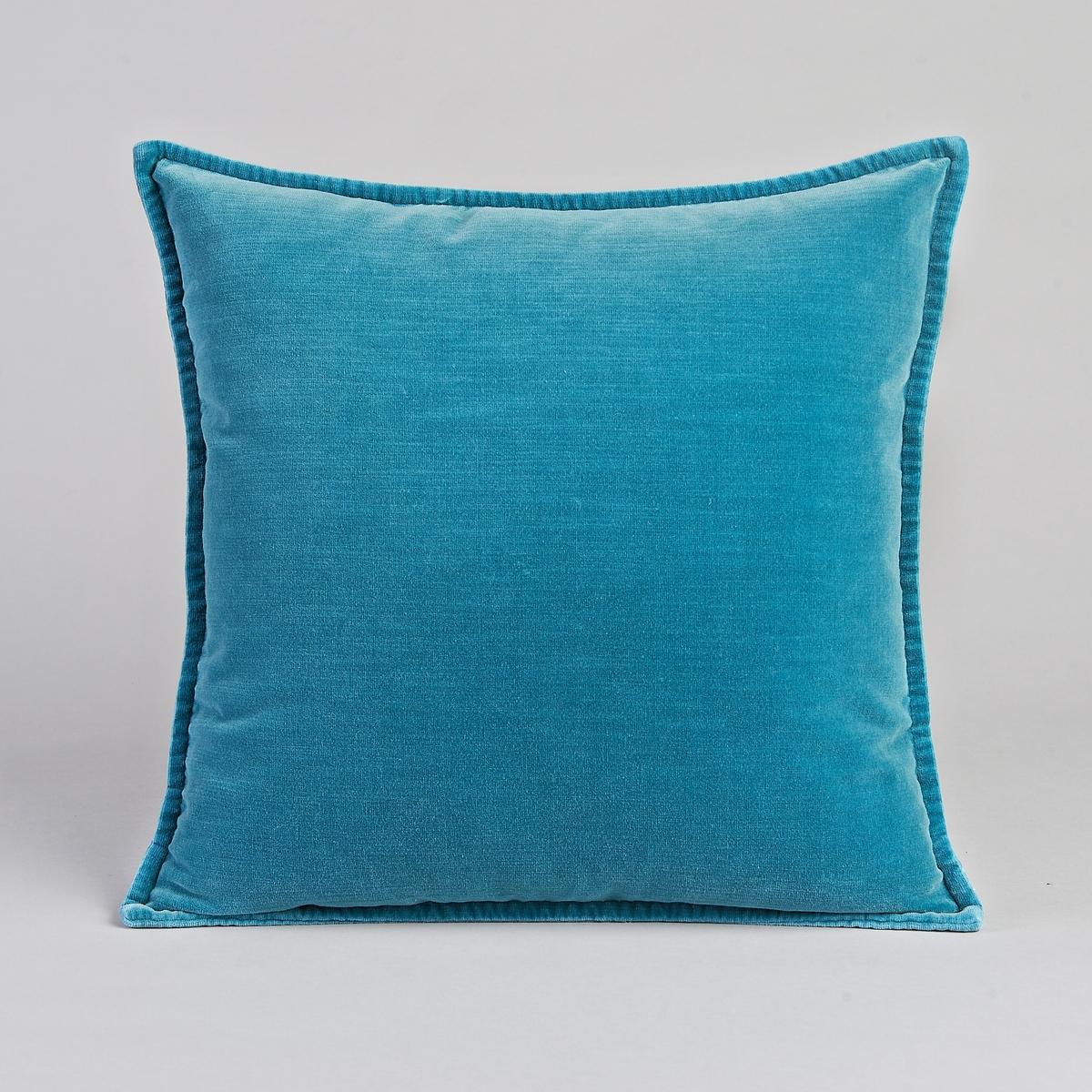 Чехол для подушки DidrikЧехол для подушки Didrik. 90% хлопка, 10% полиэстера. Застёжка на скрытую молнию сзади. Размер : 45 x 45 см.<br><br>Цвет: желтый горчичный,сине-зеленый<br>Размер: 45 x 45  см