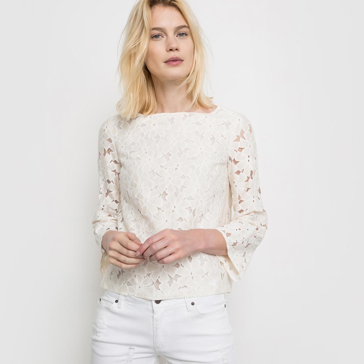 Блузка из кружева