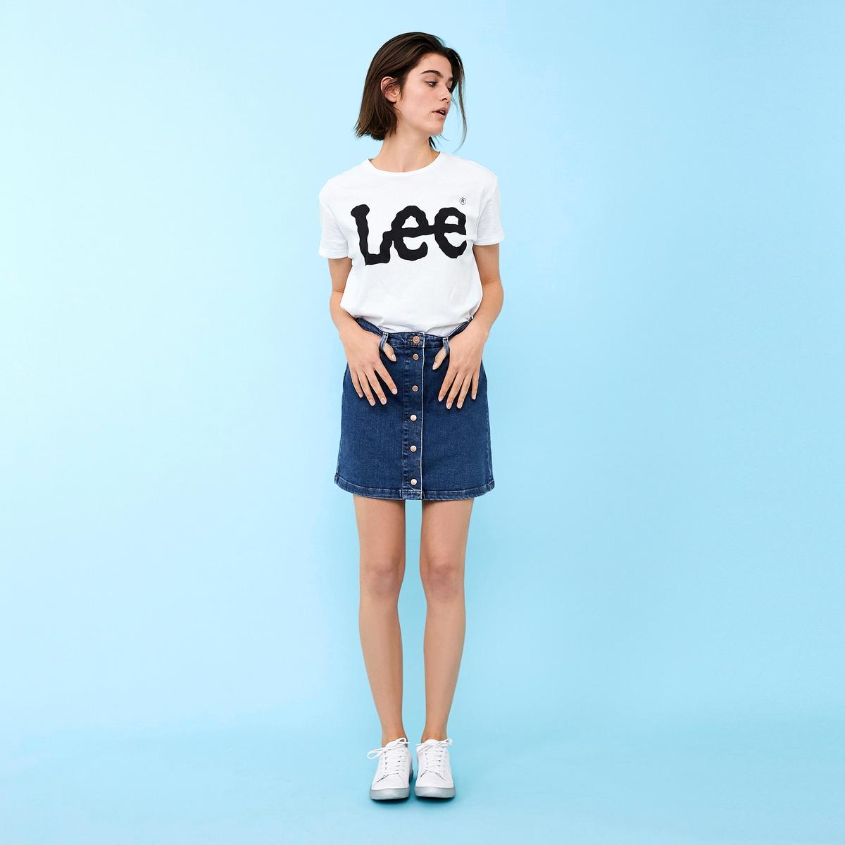 Imagen principal de producto de Falda recta y corta - Lee