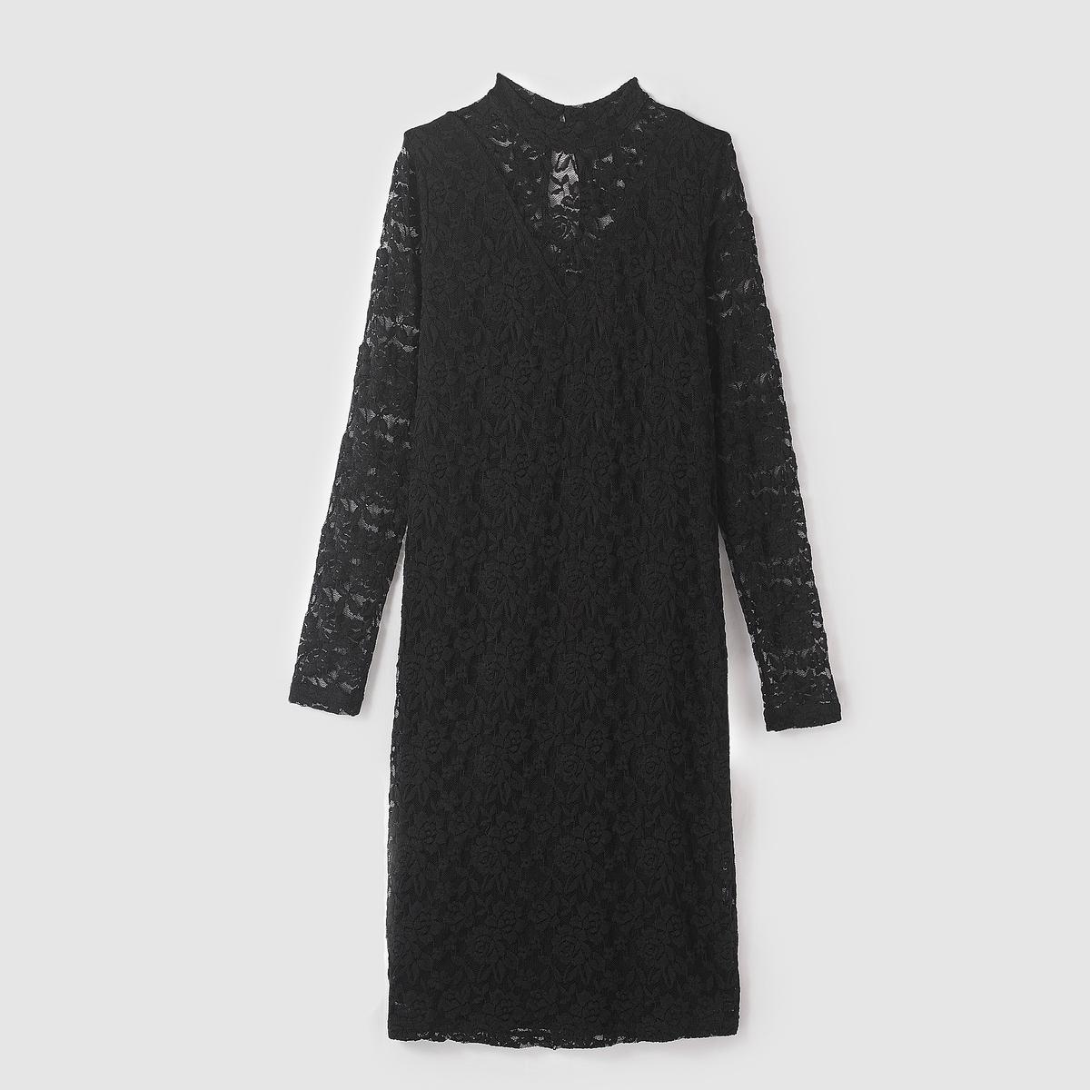 Платье POLAR DRESSСостав и описание :Материал : 80% акрила, 20% полиамидаМарка : B.YOUNG<br><br>Цвет: черный<br>Размер: XS
