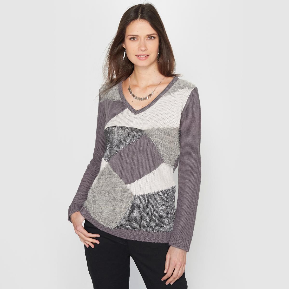 Пуловер из оригинального трикотажа пуловер с капюшоном из оригинального трикотажа
