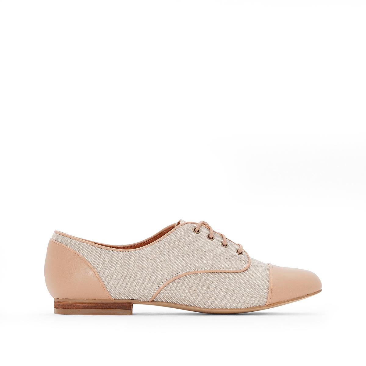 Ботинки-дерби синтетические ботинки дерби