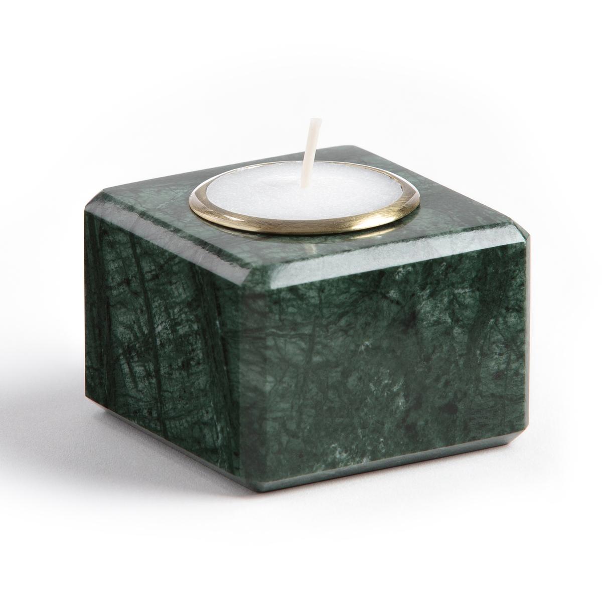Подсвечник из марамора SamdanПодсвечник Samdan. Из зеленого мрамора и черного металла . Для греющей свечи . Размеры :  ?9,5 x 9,5 см.<br><br>Цвет: Зеленый мрамор