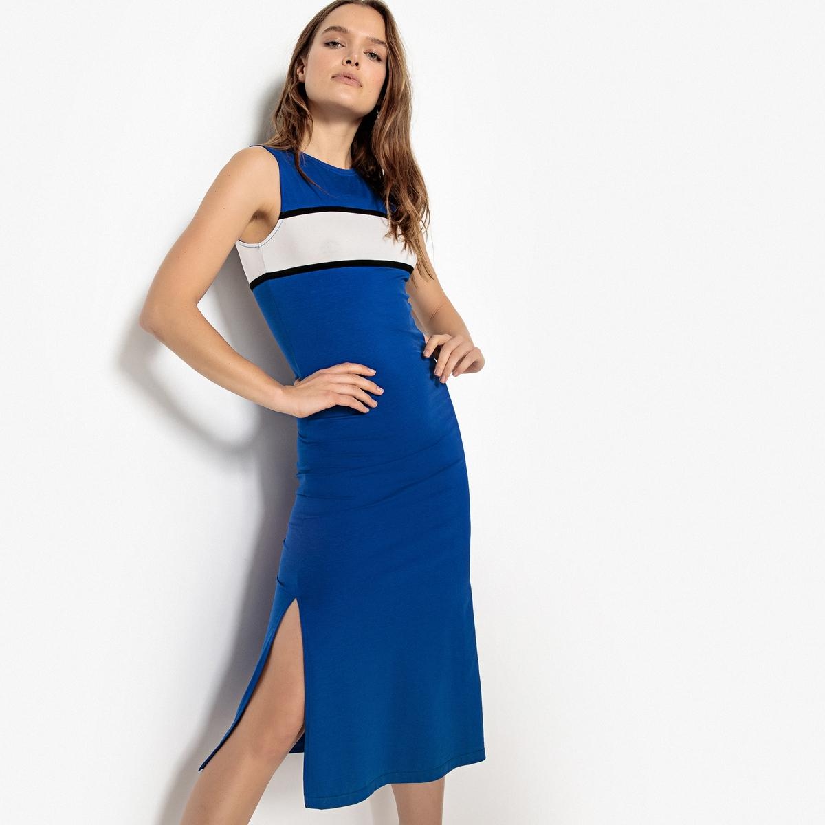 Платье спортивное средней длины без рукавов от La Redoute