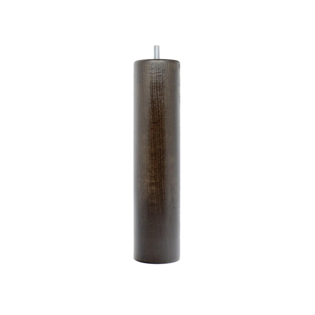Набор LaRedoute Из 4 ножек для кроватного основания цилиндрической формы высота 25 см единый размер черный основания для кроватей