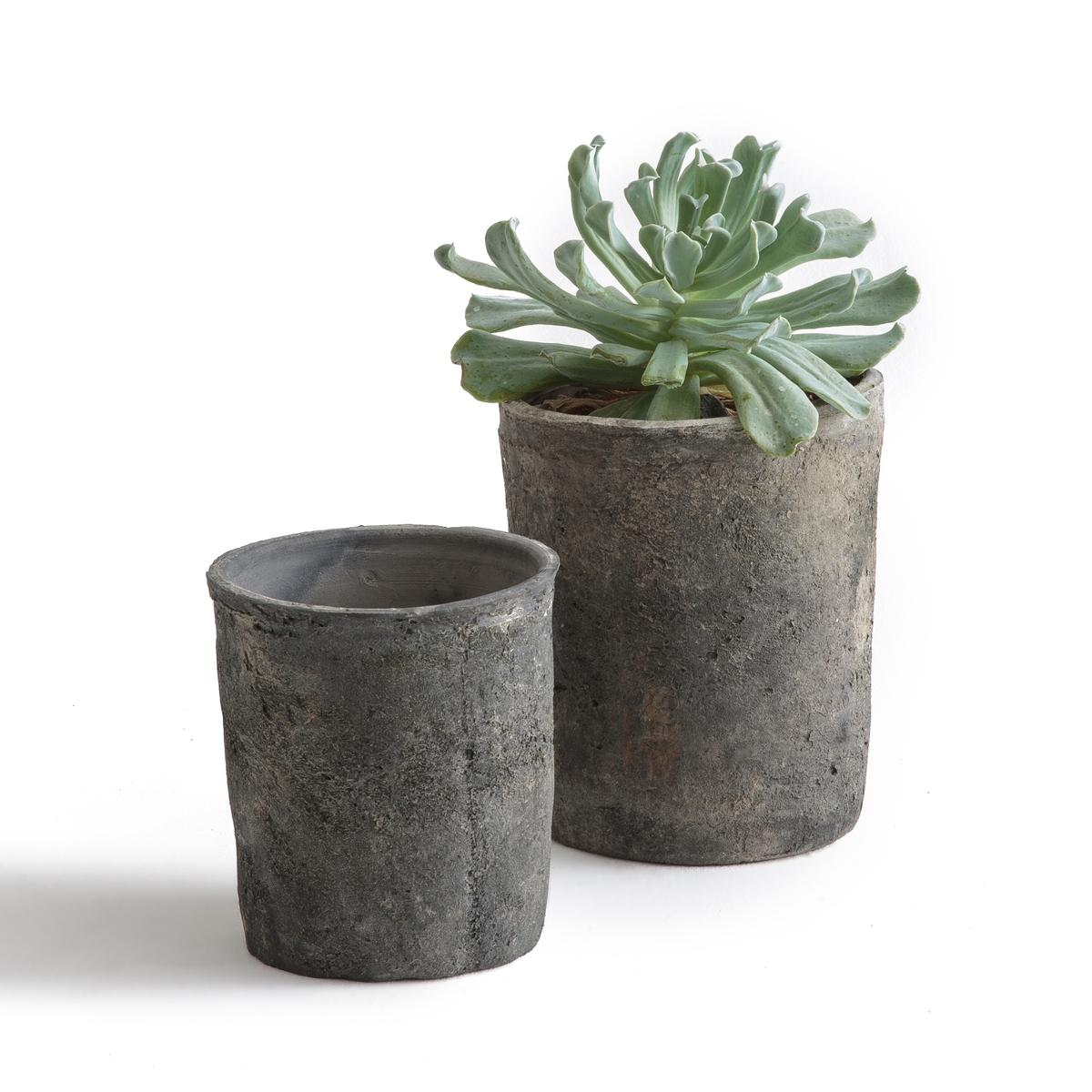 2 кашпо из керамики, Terro