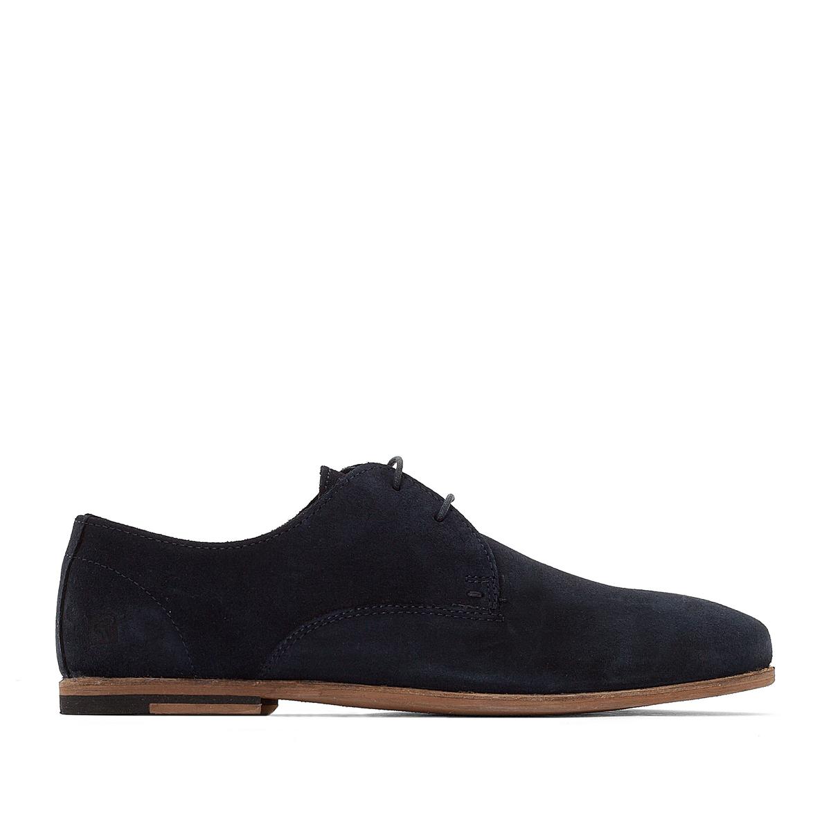 Ботинки-дерби WesselВерх : велюр         Подкладка : без подкладки         Стелька : кожа         Подошва : полимер         Застежка : шнуровка<br><br>Цвет: серый,темно-синий