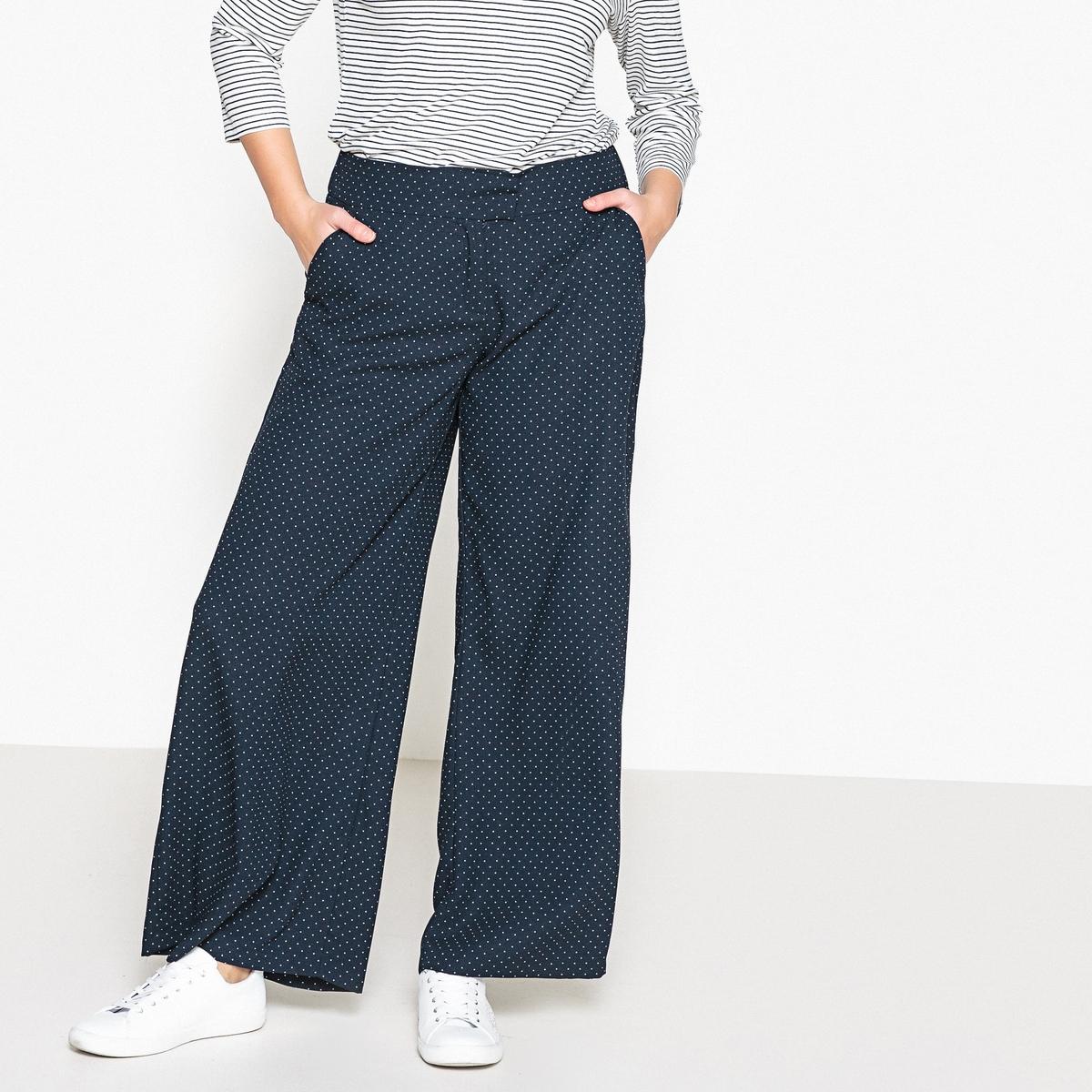 Брюки свободные, широкие elizabeth and james широкие брюки