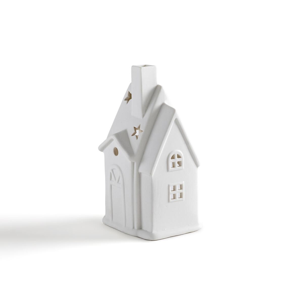 Фото - Подсвечник-домик LaRedoute Из керамики Caspar единый размер белый caspar lee caspar lee