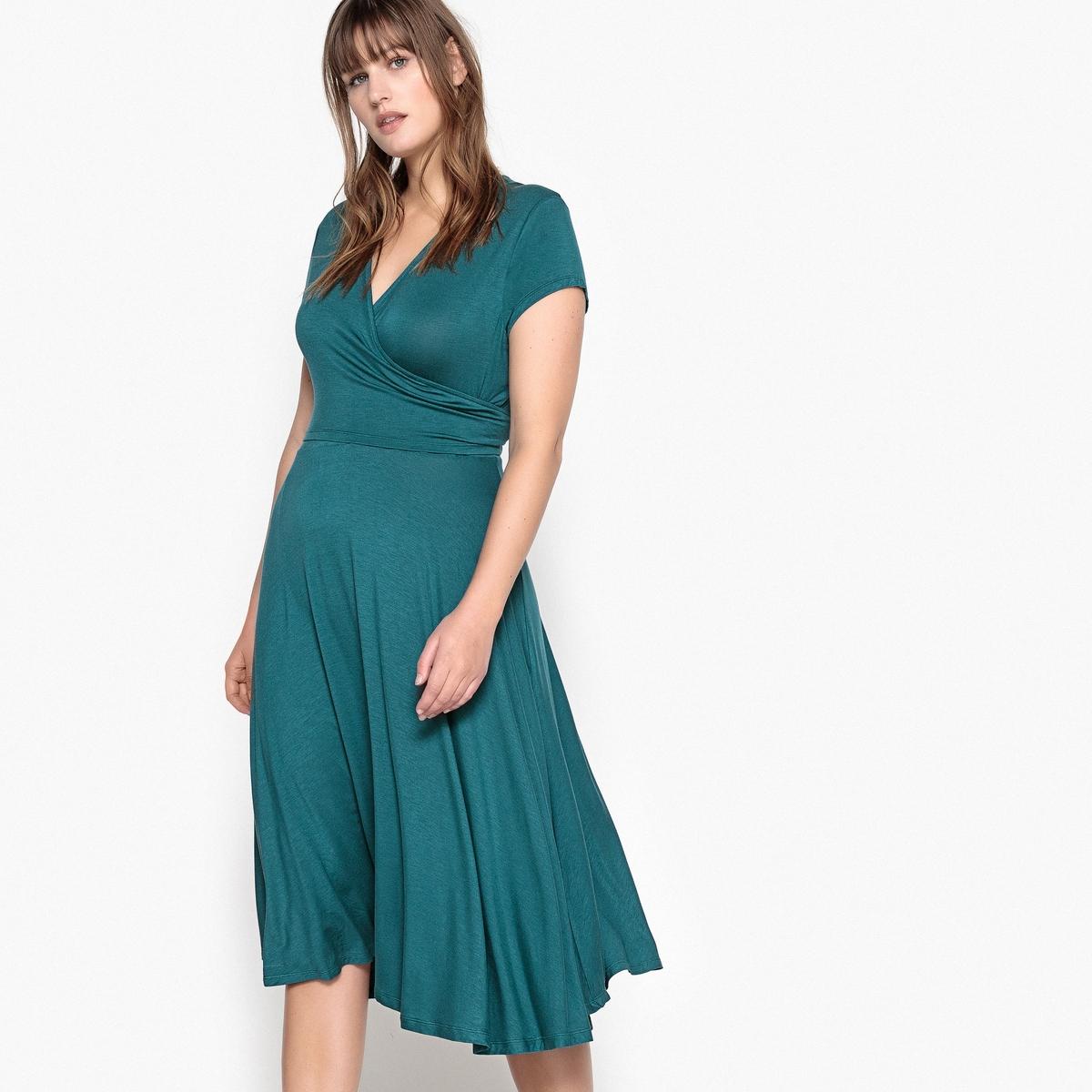 Платье с поясом длиной до колен буэнос ниньос пояс оформлены юбку карандаш с коротким рукавом платье длиной до колен
