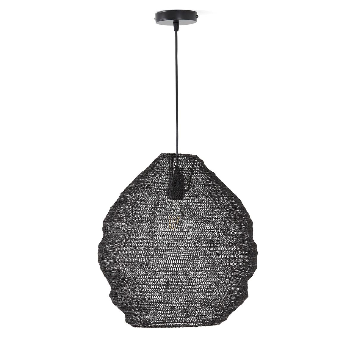 Светильник La Redoute Из прокатного металла Mita единый размер черный стол la redoute журнальный из агата и металла anaximne единый размер синий