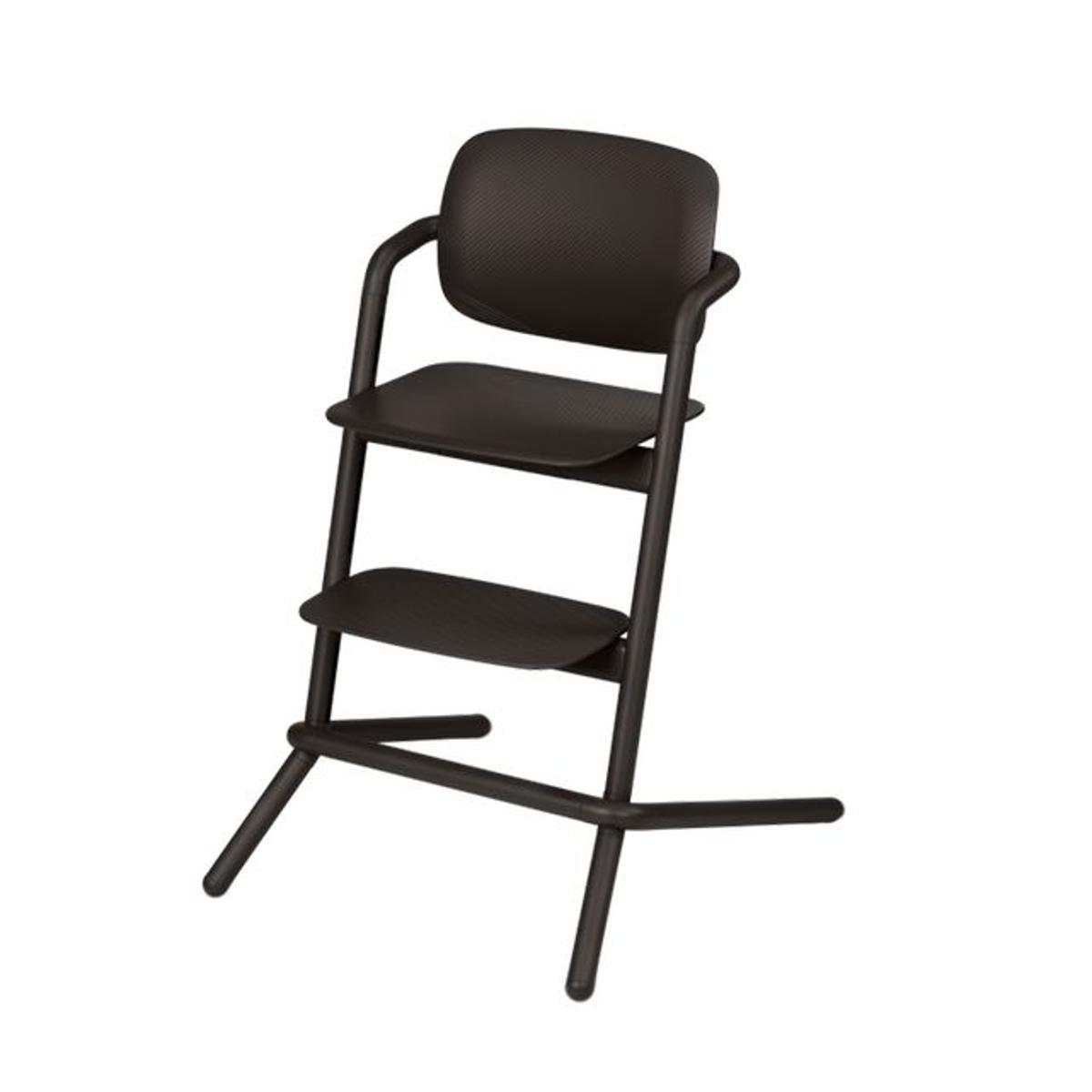 Chaise haute Lemo infinity black