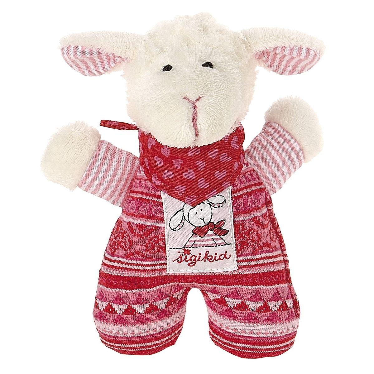 "SIGIKID Le mouton-hochet ""Schnuggi"" hochet bébé"