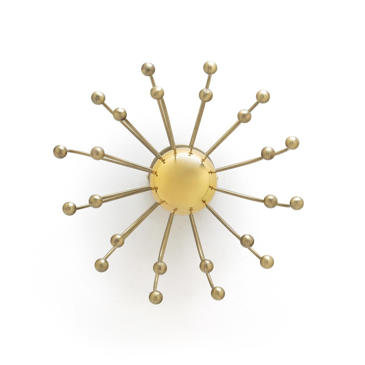 Cветильник La Redoute Настенный Ikebana единый размер желтый цена