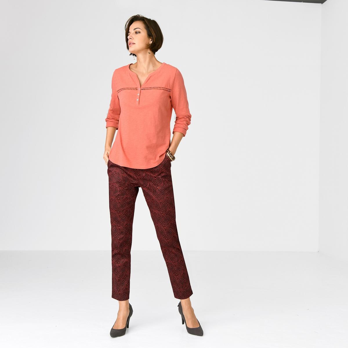 Imagen adicional de producto de Pantalón tobillero de satén de algodón stretch - Anne weyburn